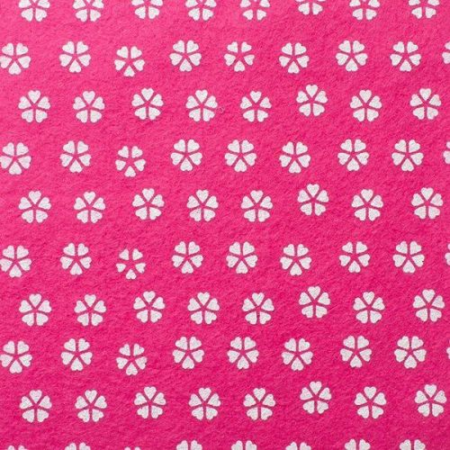 <!--572-->Wool Blend Felt - Spendid Pink, per sheet - Available in 2 sizes