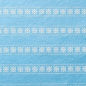 Wool Blend Felt - Scandinavian in Sky, per sheet - Available in 2 sizes  ***WAS £0.40***