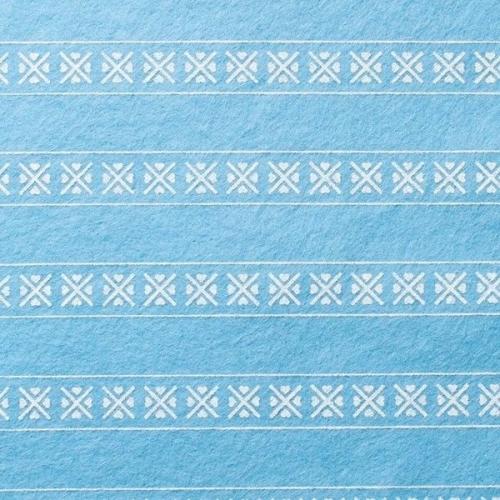 <!--582-->Wool Blend Felt - Scandinavian in Sky, per sheet - Available in 2