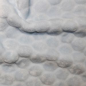 Supersoft Coral Bubble Fleece - Blue, per quarter (50cm x 75cm)  ***WAS £2.10***