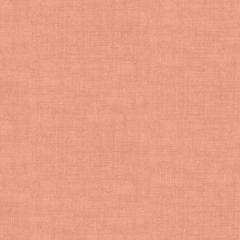 Makower UK - Linen Texture in Coral Pink, per fat quarter  ***WAS £2.40***