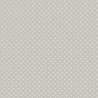 Makower UK - Polka Dot in Silver Grey 830/S60, per fat quarter
