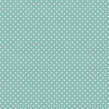 Makower UK - Polka Dot in Teal 830/T3, per fat quarter