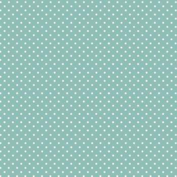 Makower UK - Polka Dot in Teal 830/T3, per fat quarter