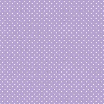 Makower UK - Polka Dot in Lilac 830/L, per fat quarter