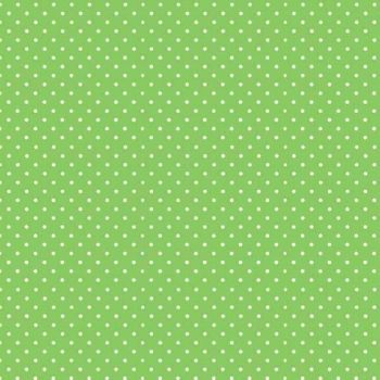 Makower UK - Polka Dot in Apple 830/G65, per fat quarter  ***WAS £2.40***