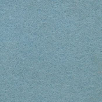 Wool Blend Felt - Plain in Sky, per sheet - Available in 2 sizes