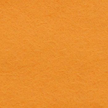 Wool Blend Felt - Plain in Fiesta Gold, per sheet - Available in 2 sizes