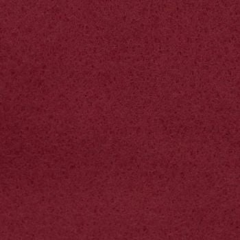 Wool Blend Felt - Plain in Garnet, per sheet - Available in 2 sizes