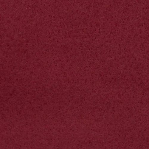 <!--0523-->Wool Blend Felt - Plain in Garnet, per sheet - Available in 2 si
