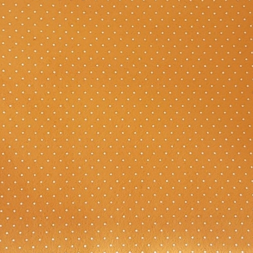 <!--0557-->Wool Blend Felt - Polka Dot in Primrose, per sheet - Available i