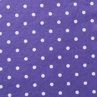 <!--0561-->Wool Blend Felt - Large Polka Dot in Lavender, per sheet - Available in 2 sizes  ***WAS £0.25***