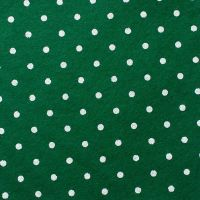 <!--0563-->Wool Blend Felt - Large Polka Dot in Holly, per sheet - Available in 2 sizes  ***WAS £0.25***