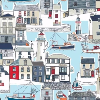 Makower UK - Marina Harbour, per fat quarter