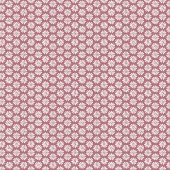 Makower UK - Antique Garden Floral in Pink, per fat quarter  ***WAS £2.50***