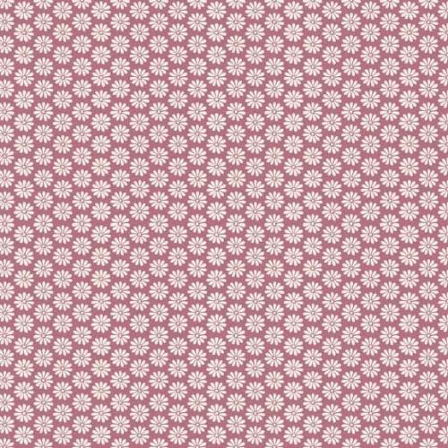 <!--3136-->Makower UK - Antique Garden Floral in Pink, per fat quarter