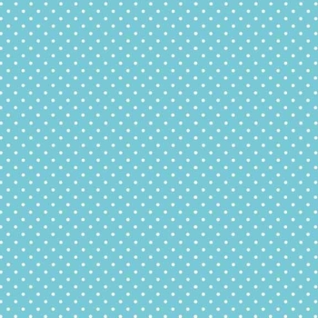 Makower UK - Polka Dot in Sky 830/B4, per fat quarter  ***WAS £2.40***