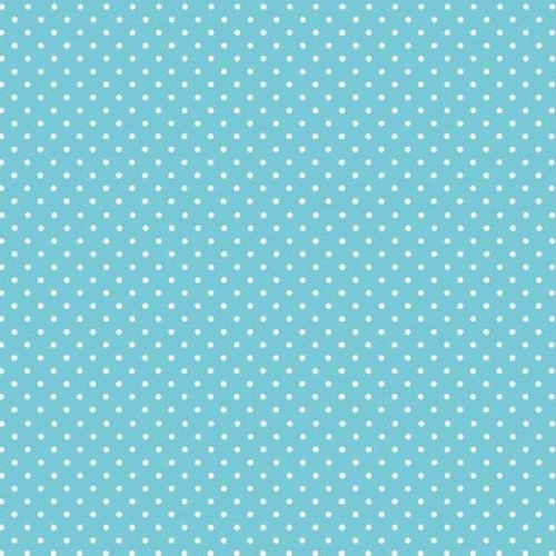 <!--3018a-->Makower UK - Polka Dot in Sky 830/B4, per fat quarter