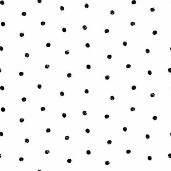 Makower UK - Monochrome Spot Black On White, per fat quarter **WAS £2.40**