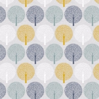 <!--5001-->Dashwood Studios - Bird Song - Trees, per fat quarter