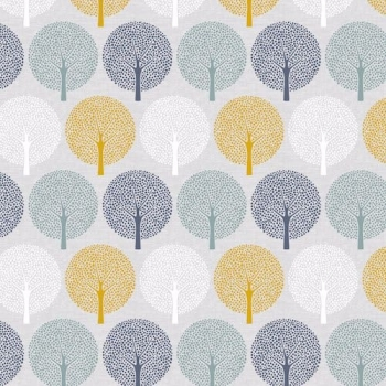 Dashwood Studios - Bird Song - Trees, per fat quarter