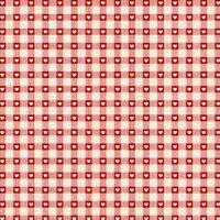 <!--9052-->Makower UK - Scandi Checkered Hearts in Red, per fat quarter