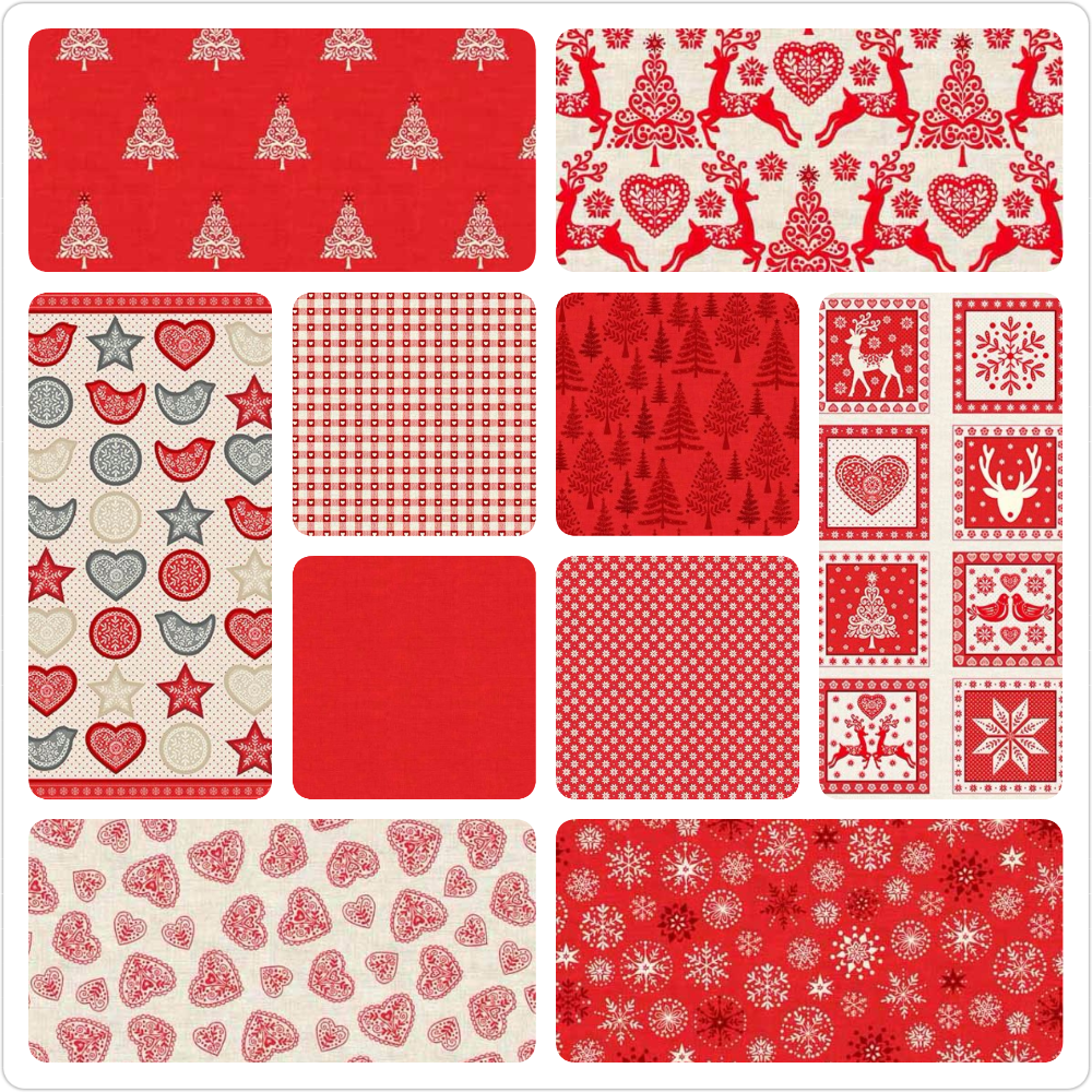 <!--105-->The Christmas Scandi Collection in Red