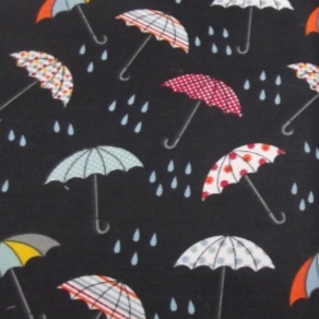 The Craft Cotton Company - Umbrellas, per fat quarter  ***WAS £1.50***
