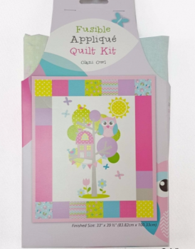 The Craft Cotton Company - Olani Owl Fusible Quilt Kit  ***WAS £15.00***