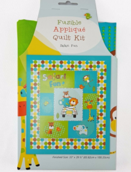 The Craft Cotton Company - Safari Fun Fusible Quilt Kit ***WAS £15.00***