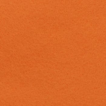 Wool Blend Felt - Plain in Tango Orange, per sheet - Available in 2 sizes