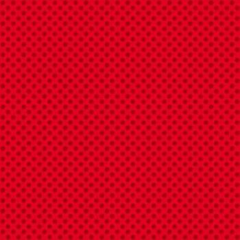 Makower UK - Novelty Polka Dot in Red, per fat quarter