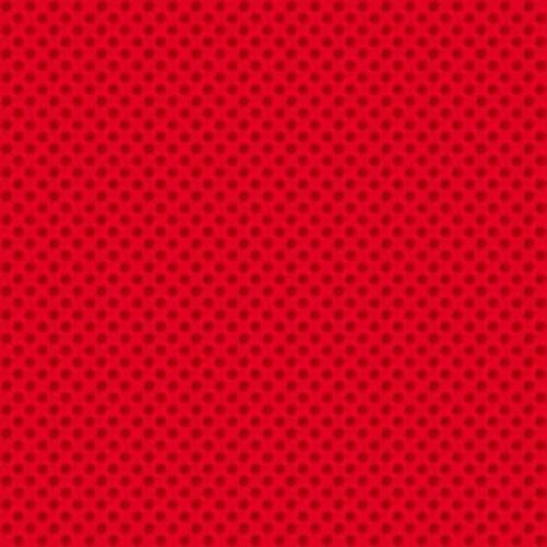 <!--9035b-->Makower UK - Novelty Polka Dot in Red, per fat quarter