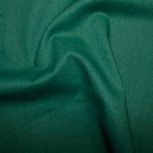 Rose & Hubble True Craft Cotton - Plain in Fir Green - 61, per fat quarter