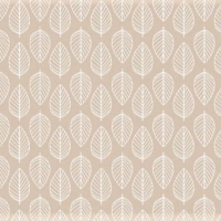 <!--3046-->Makower UK - Essentials Leaf on Nude, per fat quarter