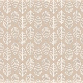 Makower UK - Essentials Leaf on Nude, per fat quarter
