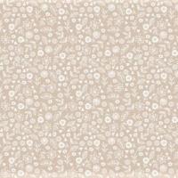 <!--3120-->Makower UK - Essentials Doodle Ditsy On Nude, per fat quarter