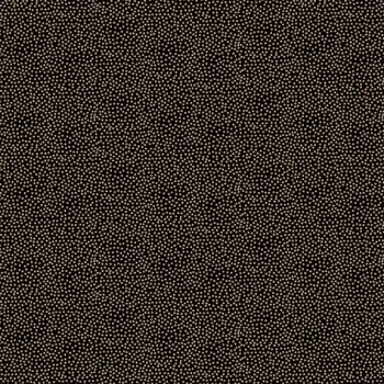 Makower UK - Modern Metallic Dotty in Black, per fat quarter  ***WAS £2.65***