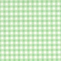 <!--1094c-->Rose &amp; Hubble - Gingham in Mint, per fat quarter