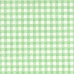 Rose & Hubble - Gingham in Mint, per fat quarter