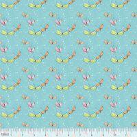 <!--5210-->Blend Fabrics - Sugar &amp; Spice - Kaleidoscope in Light Blue, per fat quarter