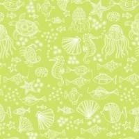 <!--3255-->Makower UK - Merryn Tonal on Green, per fat quarter
