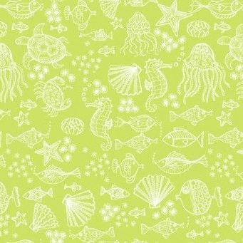 Makower UK - Merryn Tonal on Green, per fat quarter