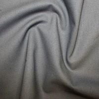 <!--1118-->Rose & Hubble True Craft Cotton - Plain in Dark Grey - 74, per fat quarter