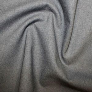 **NEW**  Rose & Hubble True Craft Cotton - Plain in School Grey 73, per fat quarter