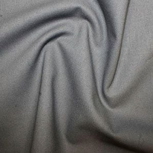 Rose & Hubble True Craft Cotton - Plain in Dark Grey - 74, per fat quarter