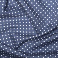 <!--1058a-->Rose & Hubble - 3mm Polka Dot in Copen, per fat quarter