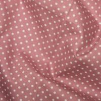 <!--1053a-->Rose &amp; Hubble - 3mm Polka Dot in Rose Pink, per fat quarter