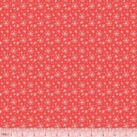 <!--9111-->Blend Fabrics - Snowlandia - Blizzard in Red, per fat quarter