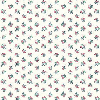 Liberty Of London - Tea For Two - Heart Bouquet, per fat quarter